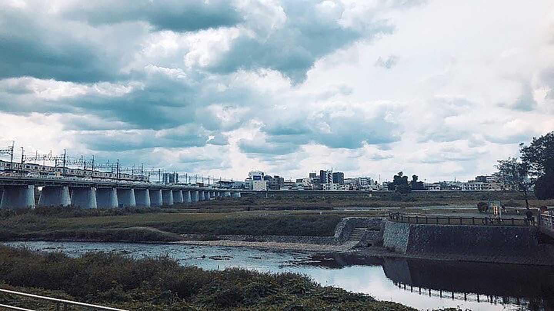 十月/多摩川